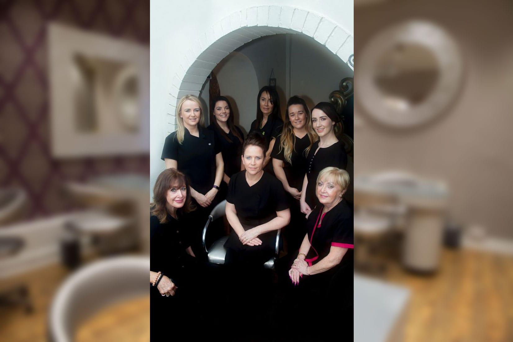 Blue Moon Beauty Salon Team