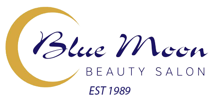 Blue Moon Beauty Salon Logo